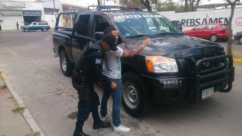 Robo tipo fardero, carterista, bolsos y cristalazos, los más comunes en Aguascalientes