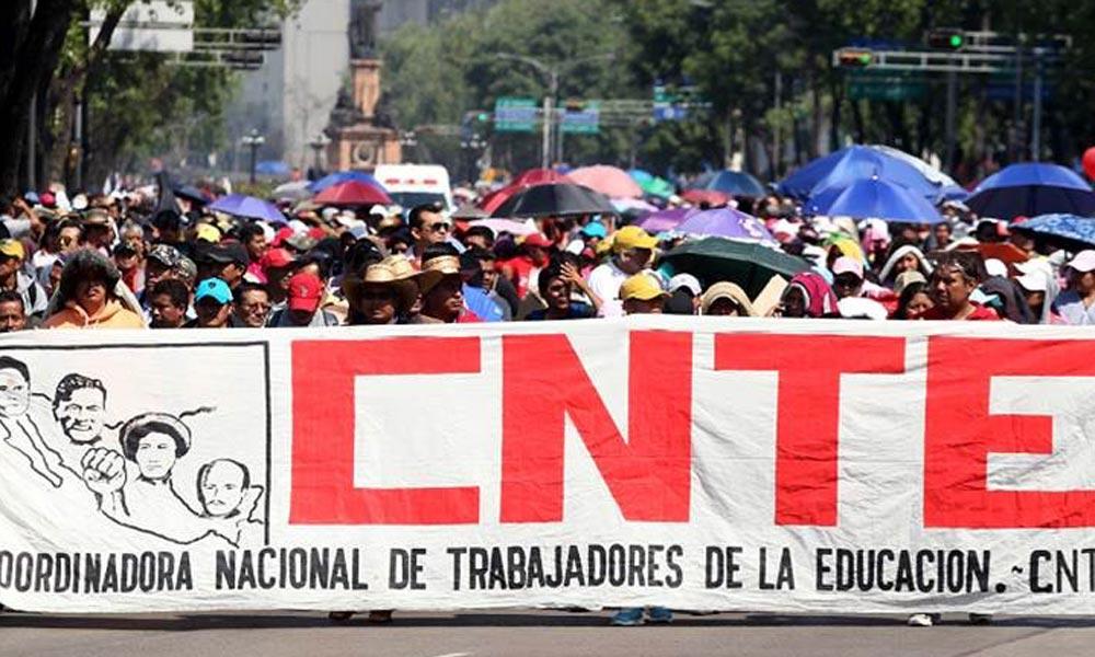 Afectan protestas de la CNTE a empresas aguascalentenses