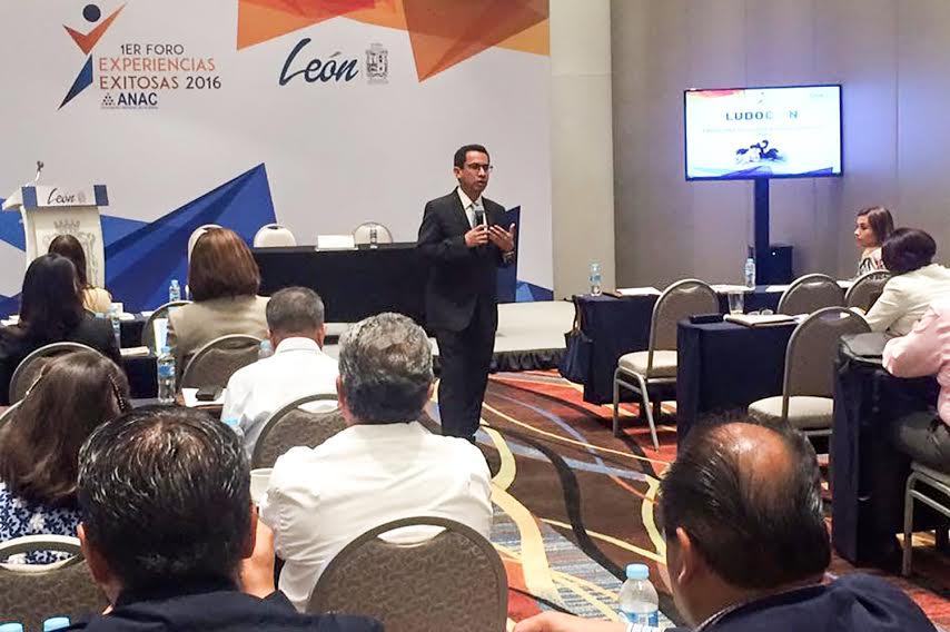 Presenta el @MunicipioAgs el programa «LUDOCAN» en la ANAC