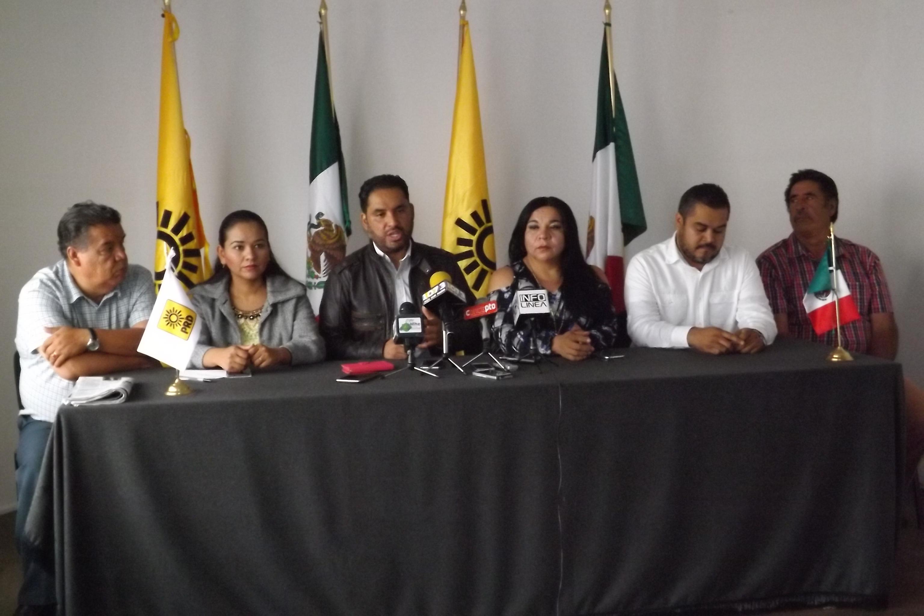 Prd: Quiere la Federación castigar a Aguascalientes con 1700 mdp