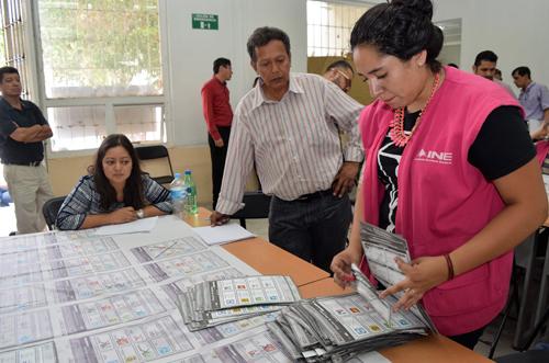 Destruirá Instituto Estatal Electoral más de un millón de boletas