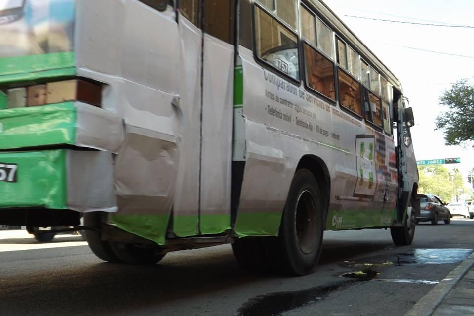Concesionarios del transporte público si quieren dignificar sus unidades