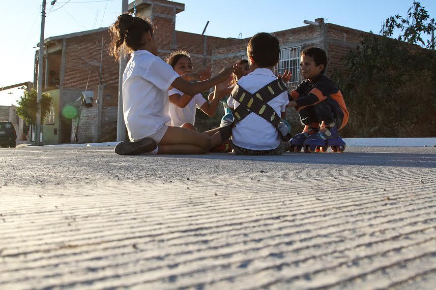 Dignifica el @MunicipioAgs calles en Los Pericos