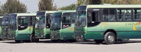 Abandonan el transporte público por inseguridad