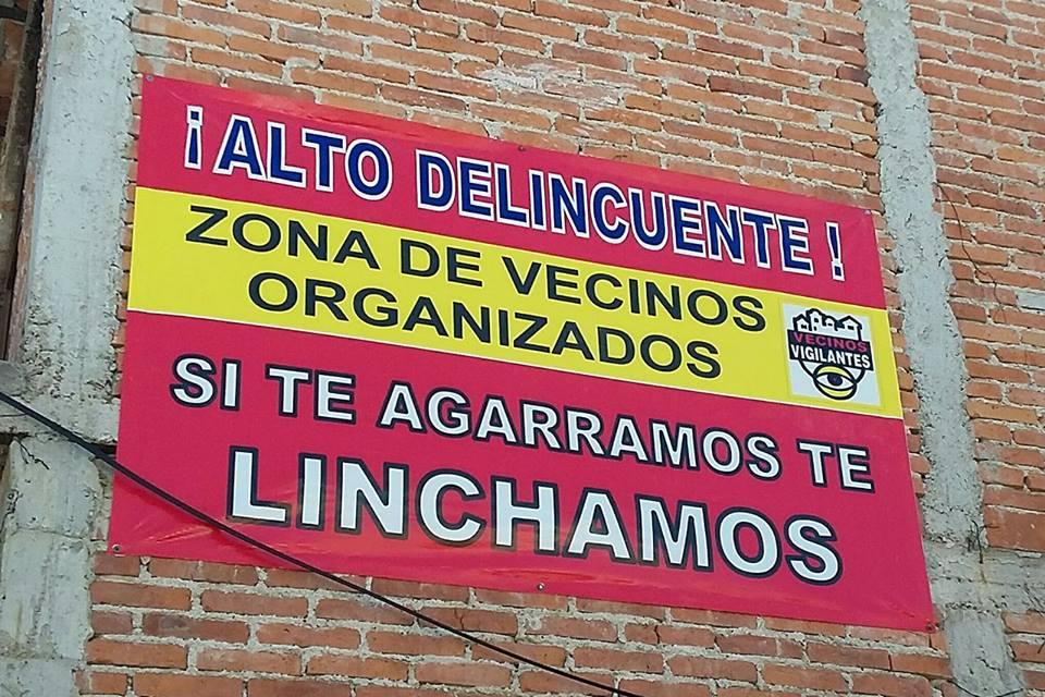 Amenaza de linchamiento ahora en la López Portillo