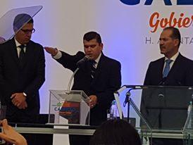 Toma protesta Adán Valdivia como alcalde de Calvillo