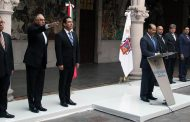 Presentan titular de la SSP, alcalde electo del @MpioCalvillo lo celebra