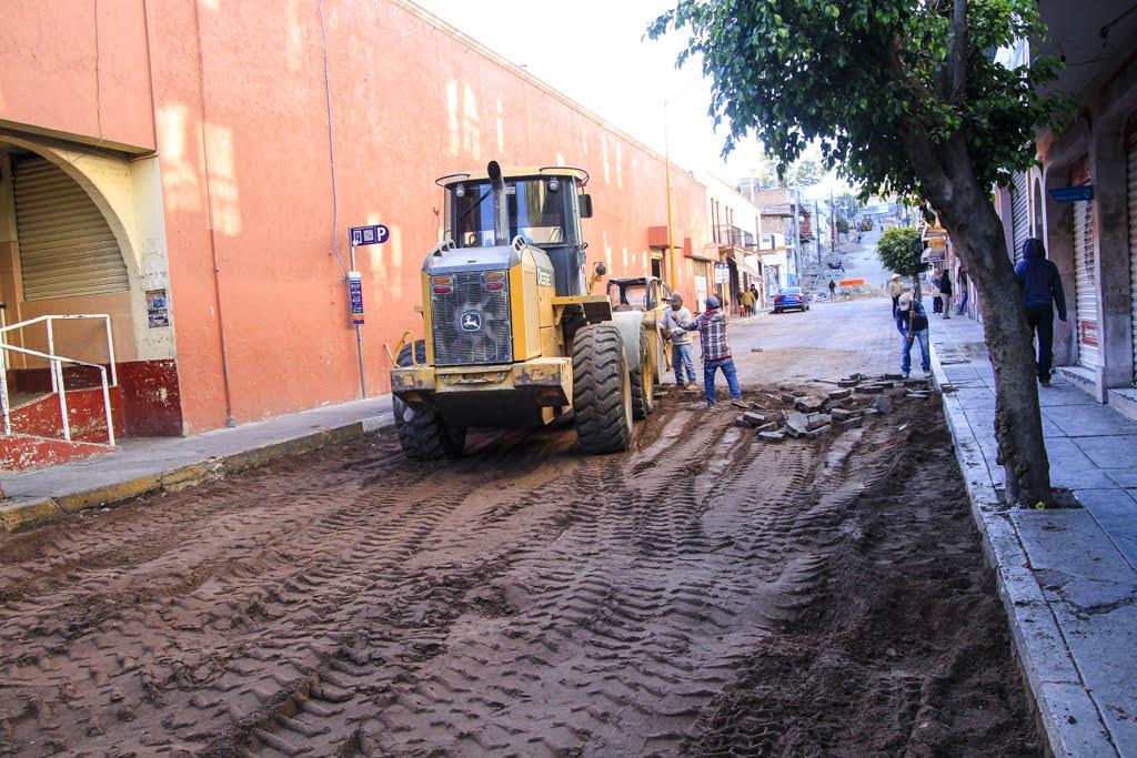 Arranca obras nueva administración del @MpioCalvillo