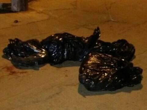 Siembran cuerpo descuartizado en Cosío