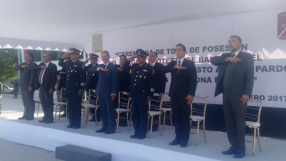 Relevo en la Zona Militar de Aguascalientes