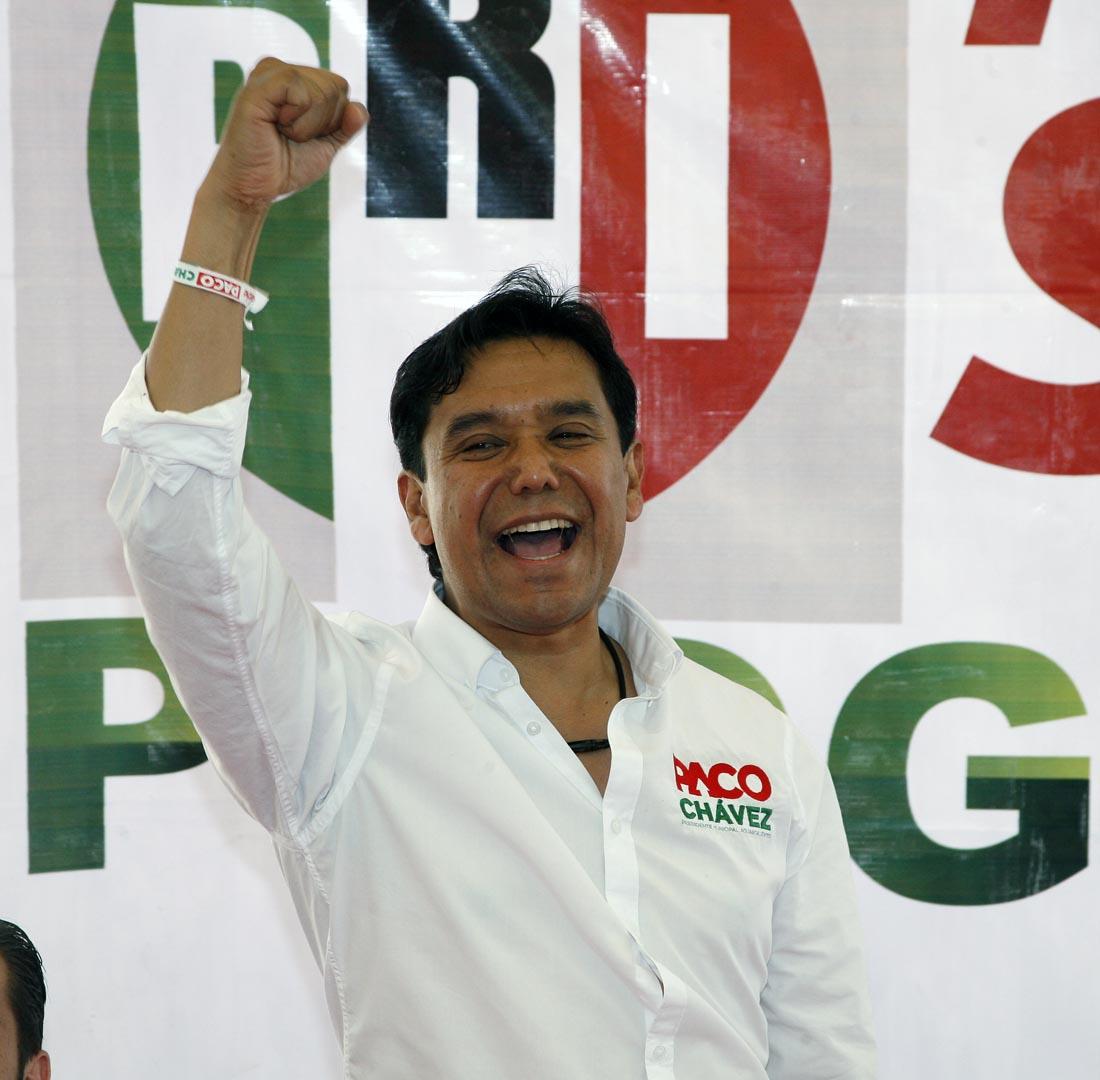 Destapan otra de Paco Chávez