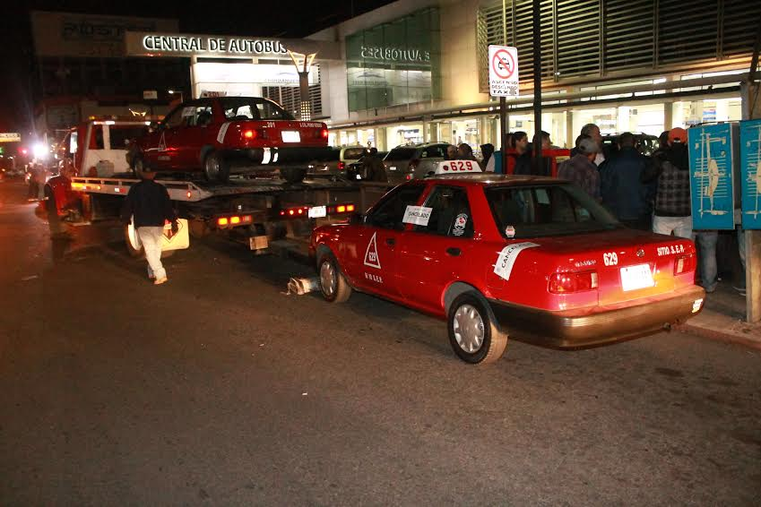 Operativo sorpresa contra Taxis