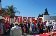 Protesta Antorcha contra SAGARPA