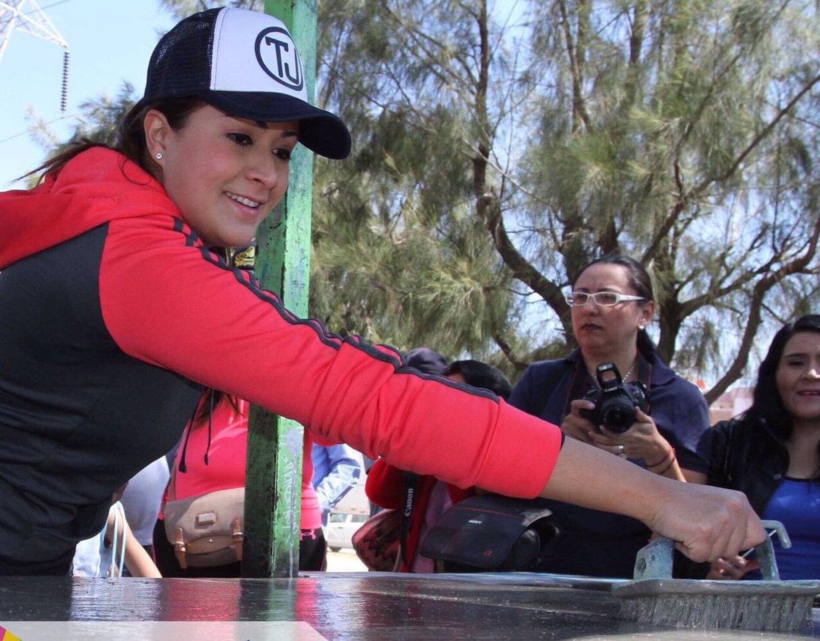 Anuncia @TereJimenezE denuncia por ecocidio en Ojo Caliente