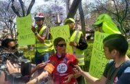 Protestan contra ATUSA y conductores irresponsables