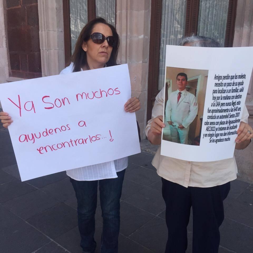 Hay 172 aguascalentenses desaparecidos