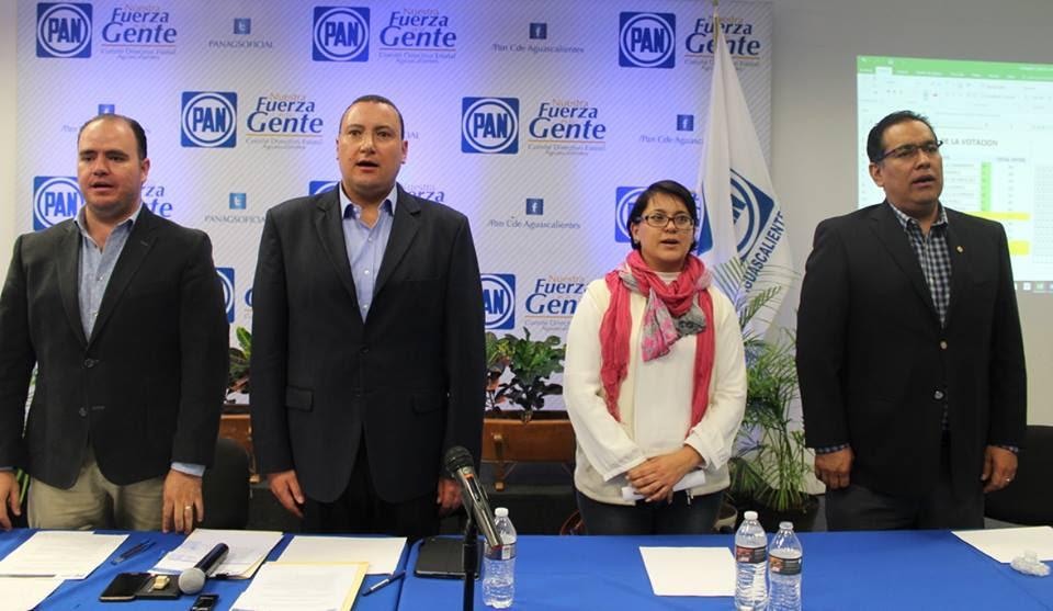 Ratifican a Paulo Martínez al frente de Acción Nacional