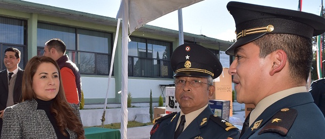 Pide alcaldesa patrullaje de la milicia en Aguascalientes