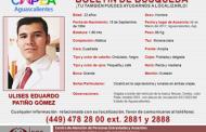 Brote de desapariciones en Aguascalientes