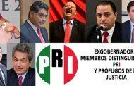 Tiene PRI 13 ex gobernadores presos o prófugos por corrupción