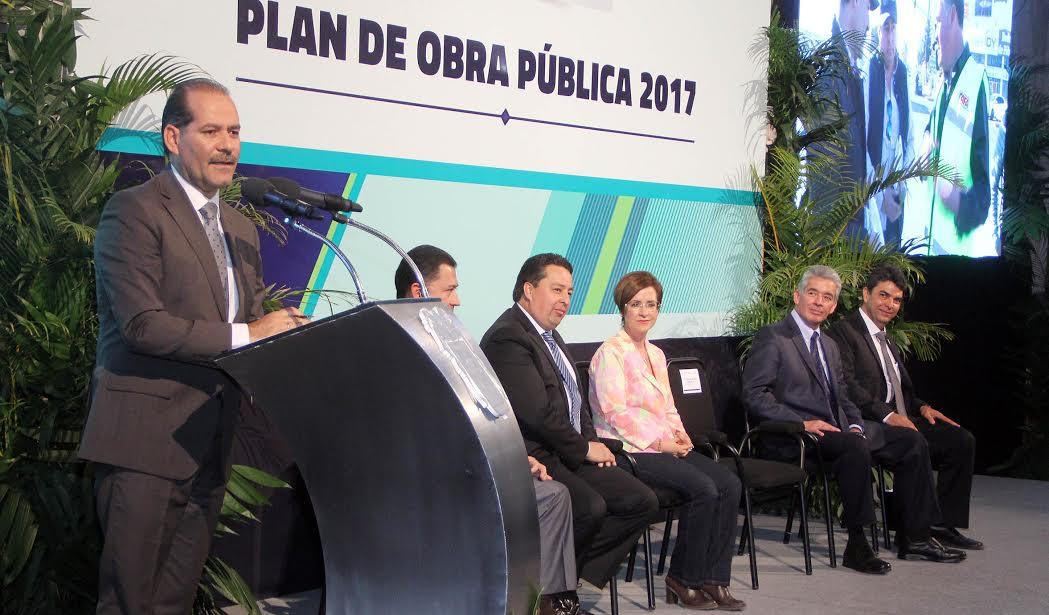 Presenta Gobernador su Programa de Obra Pública 2017