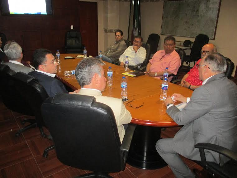 Presentan estrategia de seguridad estatal a empresarios