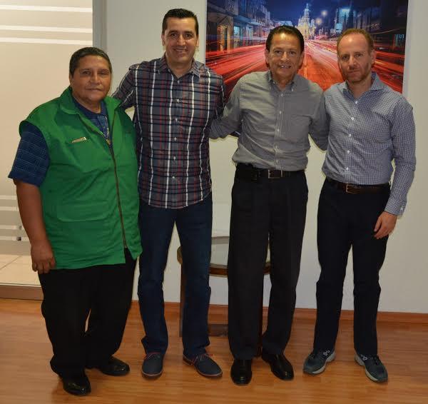Titular del IDEA se reúne con dirigentes de ADEMEBA