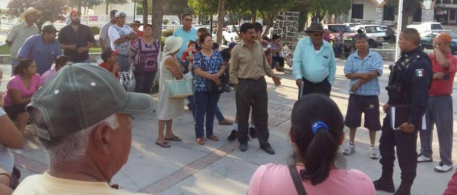 Protestan por inseguridad en San José de Gracia