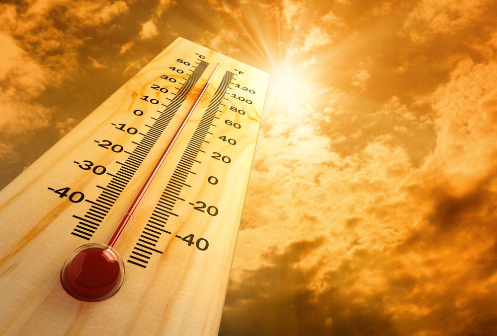 Alcanza Aguascalientes temperaturas de 38.5 grados