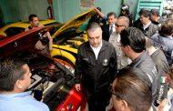 Operativo de PROFECO y PGR en lotes de autos