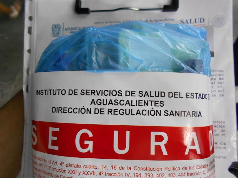 Asegura ISSEA solventes y plaguicidas