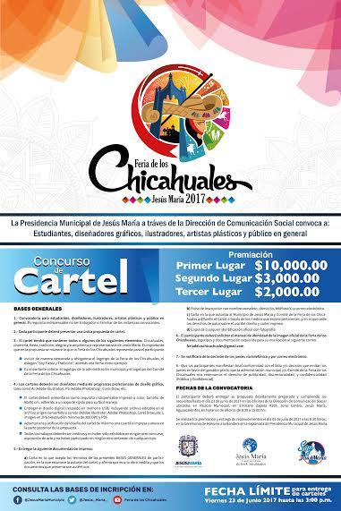 Lanzan convocatoria para concurso de cartel de los Chicahuales