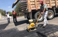 Rehabilitan en Jesús María más de 6 mil metros cuadrados de calles y avenidas