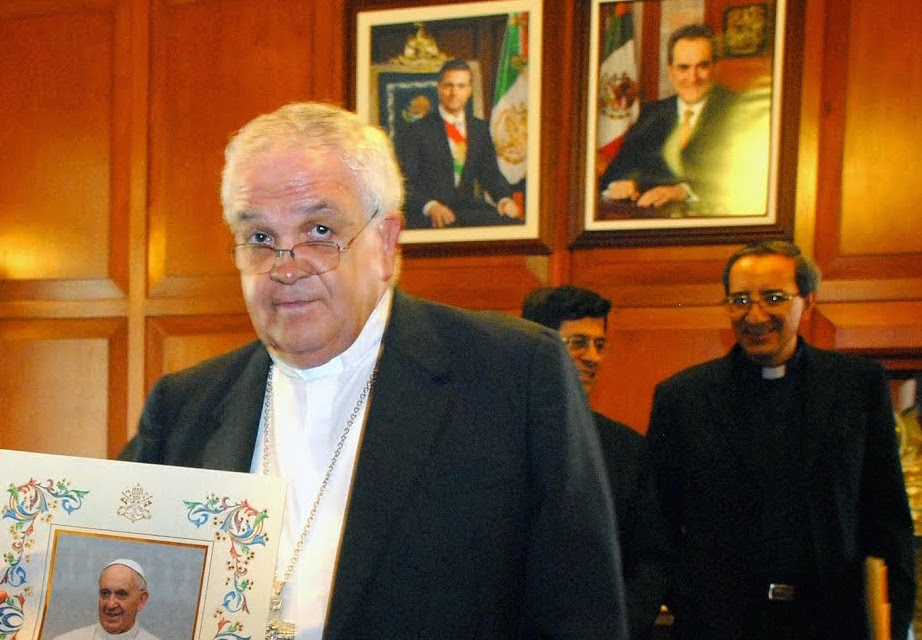 Obispo: Hay persecución en contra de la iglesia católica