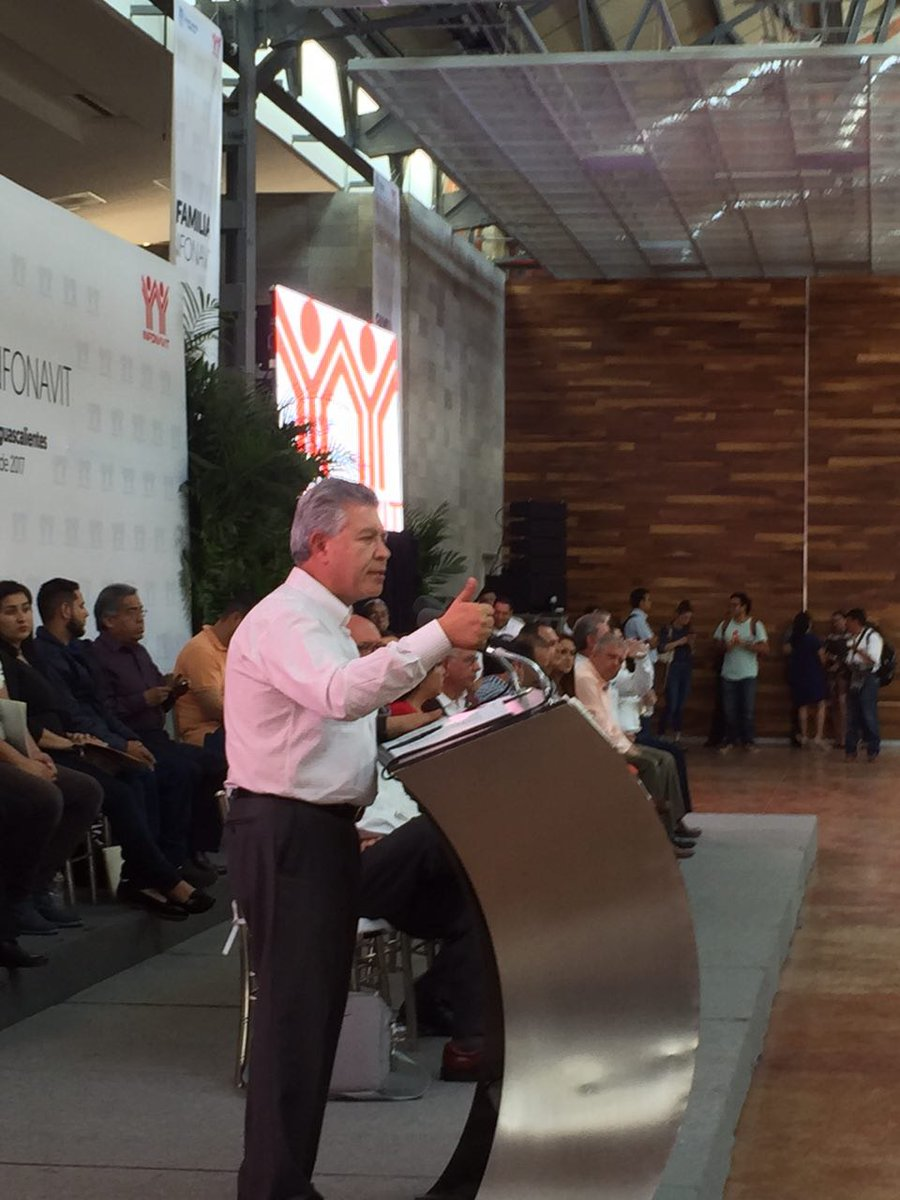 Compromete INFONAVIT 9 mil créditos para Aguascalientes este año