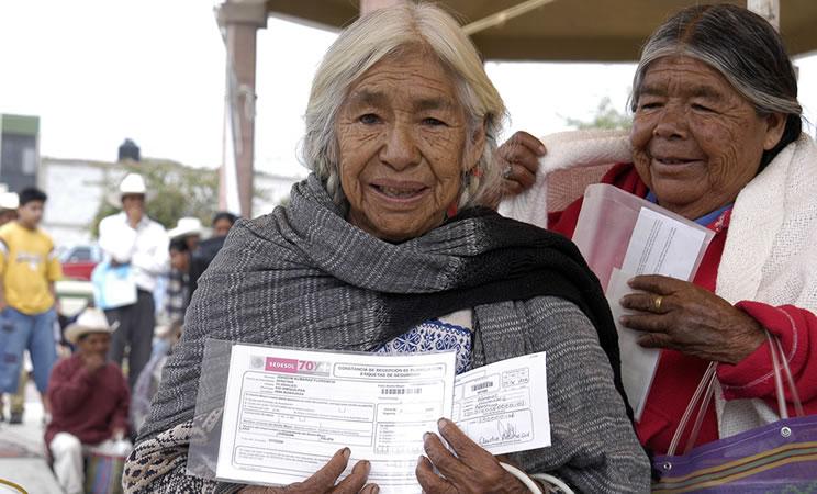 Anuncia SEDESOL pagos a adultos mayores