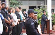 Terminan educación preparatoria 25 policías municipales de Pabellón