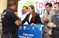 Anuncia alcaldesa aumento salarial para policía comercial y tránsito