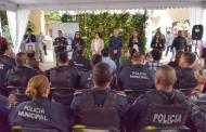Entregan más equipo y uniformes a la policía de Jesús María