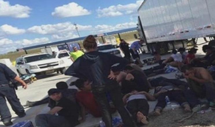 Muere migrante de El Llano que viajaba en trailer abandonado en Texas