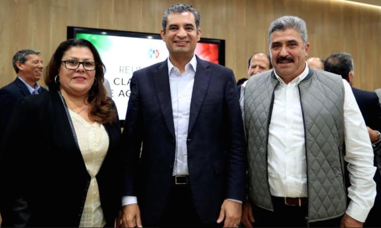 Nombra PRI a Escobedo Villegas Delegado del CEN en Aguascalientes