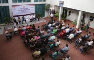 Anuncian apoyo para la construcción en Pabellón de Arteaga