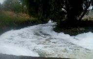 Evidencia el PVEM contaminación en el río San Pedro