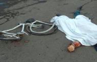 Protestan contra urbaneros por muerte de ciclista
