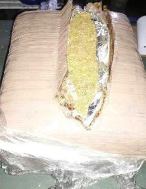 Aseguran 40 kilos de marihuana en puerta sur