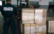 Decomisa PFP 200 mil cigarros chinos en Aguascalientes