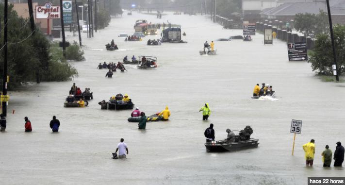 Hay al menos 28 aguascalentenses afectados por tormenta en Houston