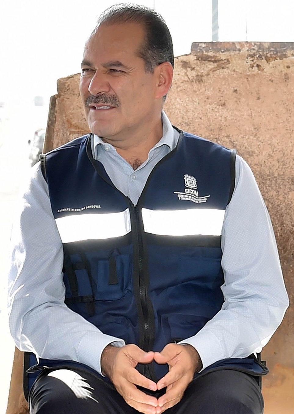 Truena Orozco en contra de mandos de la policía municipal