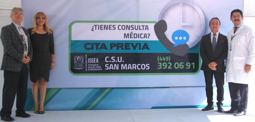 Anuncia ISSEA programa cita previa en dos centros de salud