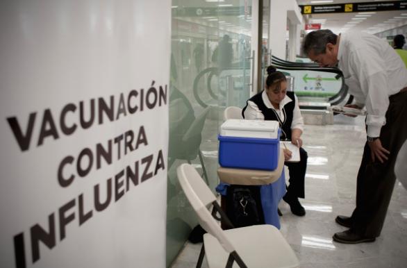 Registra la entidad primeros casos de influenza